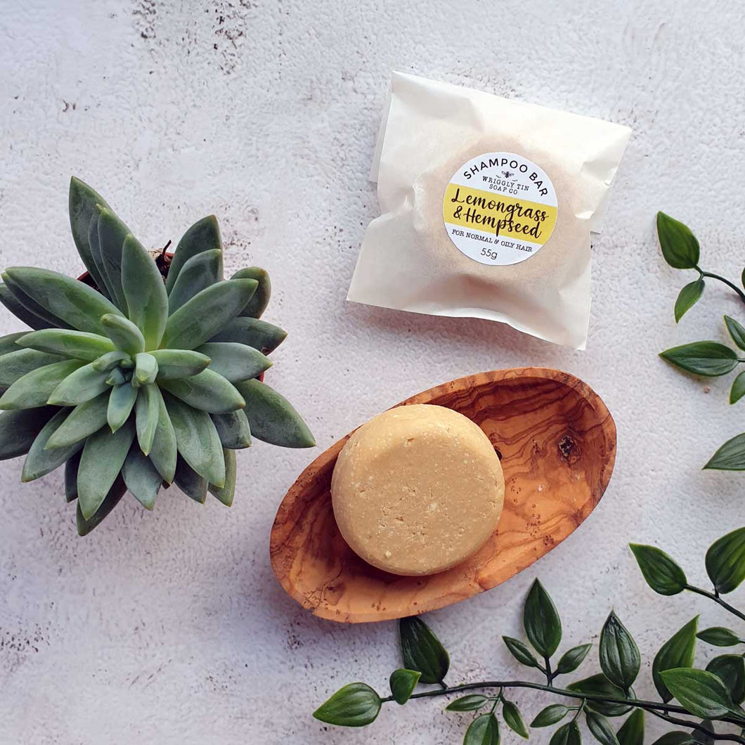 SHAMPOO BAR - Lemongrass & Hempseed
