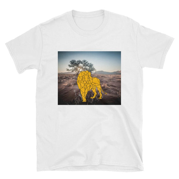 Lion in the jungle Short-Sleeve Unisex T-Shirt - ToneWay Clothing