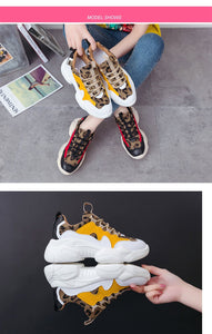 Leopard Plush Fashion High Quality Women Sneakers - ToneWay Clothing