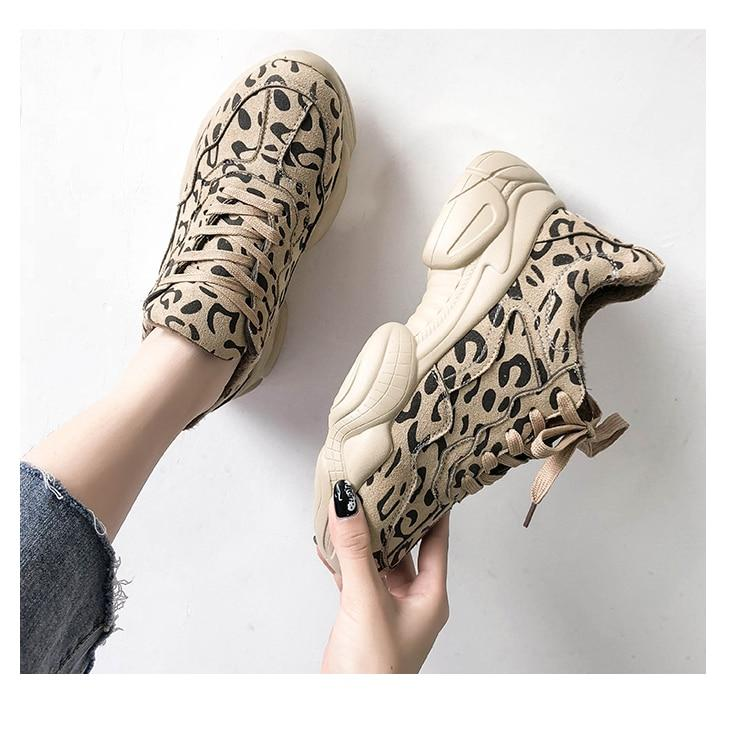 NEW Fashion Korean Women Platform Shoes Breathable Sneakers  Comfortable Casual Suede Shoes - ToneWay Clothing