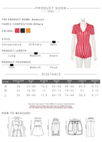 Toneway Clothing women sexy short red white striped short sleeve rompers 2019 new female elastic skinny sexy party bodysuits - ToneWay Clothing