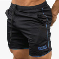 Toneway Clothing New Men Fitness Bodybuilding Shorts Man Summer Workout Male Breathable Mesh Quick Dry Sportswear Jogger Beach Shorts - ToneWay Clothing
