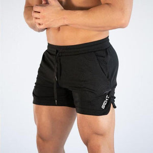 Toneway Clothing Men Fitness Bodybuilding Shorts Man Summer Gym Workout Male Breathable Mesh Quick Dry Sportswear Beach Short Pants - ToneWay Clothing
