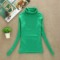 Toneway Clothing 2020 High Quality Fashion Spring Autumn Winter Sweater Women Wool Turtleneck Pullovers Fashion Women's Solid Sweaters - ToneWay Clothing