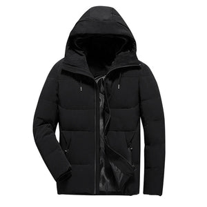 df69d8b719f9 Toneway Clothing Winter Jacket Men Clothes 2019 Casual Stand Collar Hooded  Collar Fashion Winter Coat Men Parka Outerwear Warm Slim fit