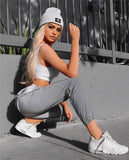 Toneway Clothing Reflective Glowing Hip Hop Sweatpants High Waist Harem Pants Streetwear Night Club Womens Trousers 2020 Fashion Loose Joggers - ToneWay Clothing