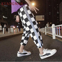 Reflective Glowing Streetwear Pants Men Jogger Ankle-Length Harem Pants Men Clothes Joggers Trousers Men Pants Casual XXL - ToneWay Clothing