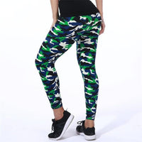 Toneway Clothing New Fashion 2020 Camouflage Printing Elasticity Leggings Camouflage Fitness Pant Legins Casual Milk Legging For Women - ToneWay Clothing