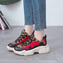 Load image into Gallery viewer, Leopard Plush Fashion High Quality Women Sneakers - ToneWay Clothing
