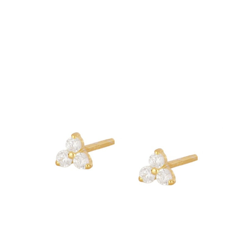 Pendientes Mini Flower Gold
