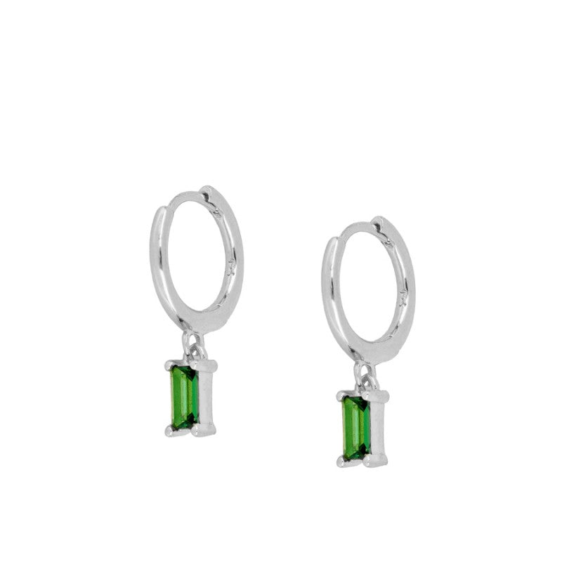 Pendientes Eternity Green