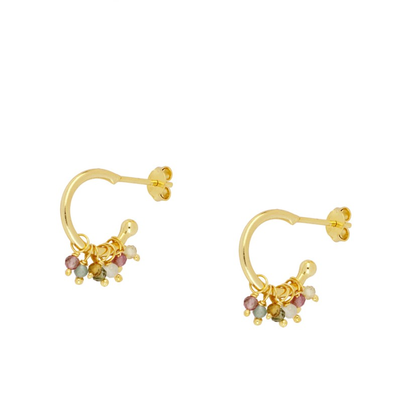 Pendientes  Belli Gold Black