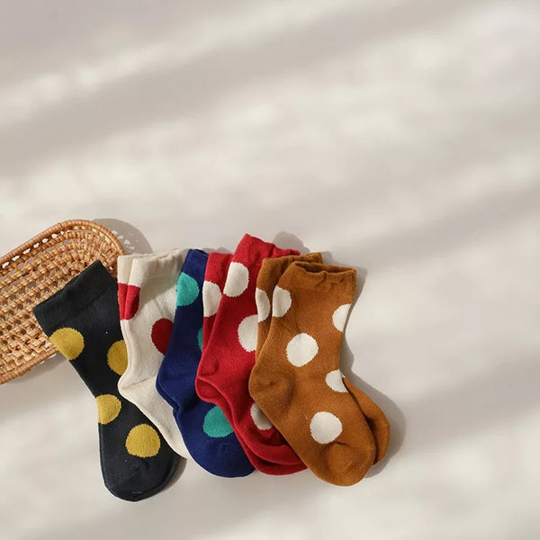 Funky spotted socks