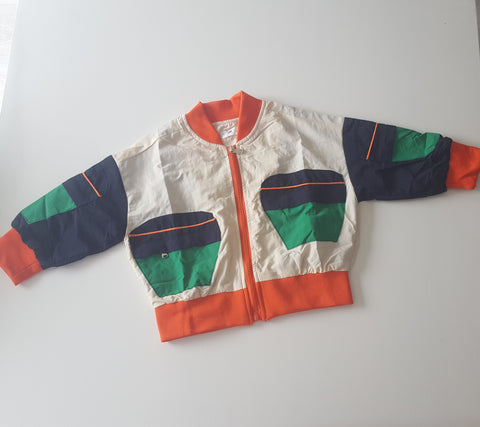 Cruz Colour Block Bomber Jacket