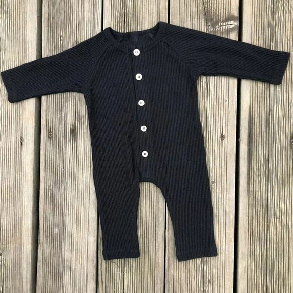 Ribbed Baby Romper