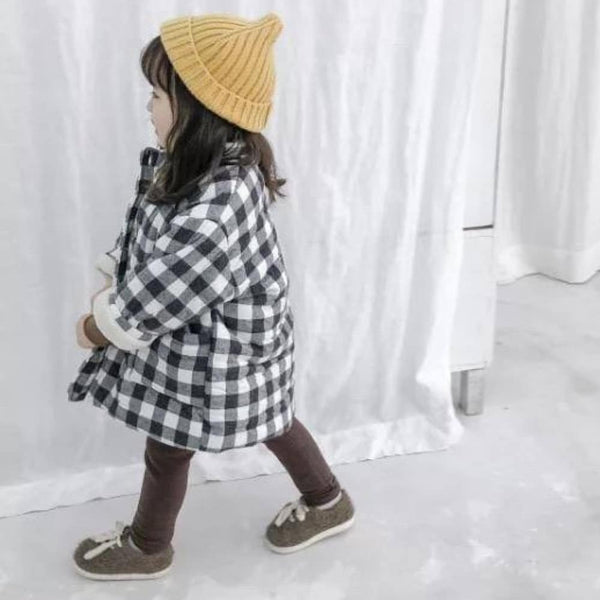 Unisex Checkered Jacket