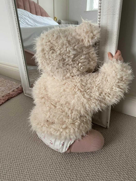 Fluffy Teddy Monbebe Jacket