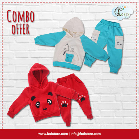 Two Clothing Set for Kids - Winter Wear for kids
