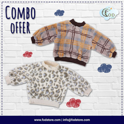 Set of Two Sweaters - Winter Wear for kids