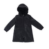 Girls Corduroy Coat - Black