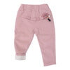 Girls  Flower Solid Pants