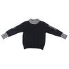 Girls Round Neck Knitted Top