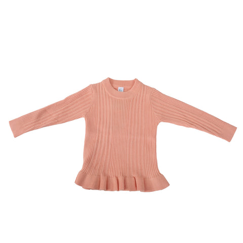 Girls Woolen Warm knitted Top