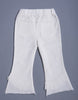 Girls Regular Fit Jeans - White