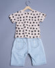 Boys Smart Two Piece Set With Capri