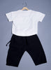 Boys Half-sleeves t-shirt with Capri