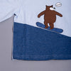 Boys Blue Round Neck T-shirt