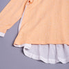 Girls Full Sleeves Top - Bunny Applique