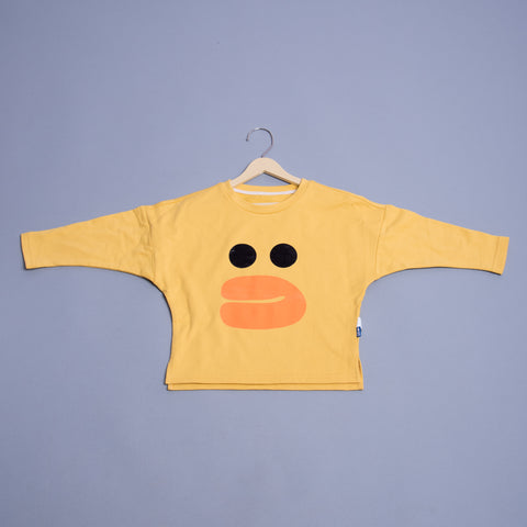 Boys Cartoon Round Neck T-Shirt