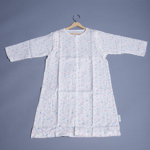 Girls Flower Print Night Wear