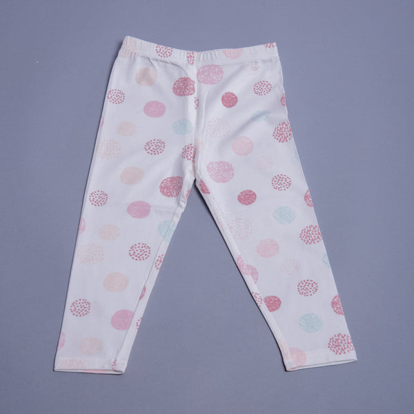 Girls Polka Dots Leggings
