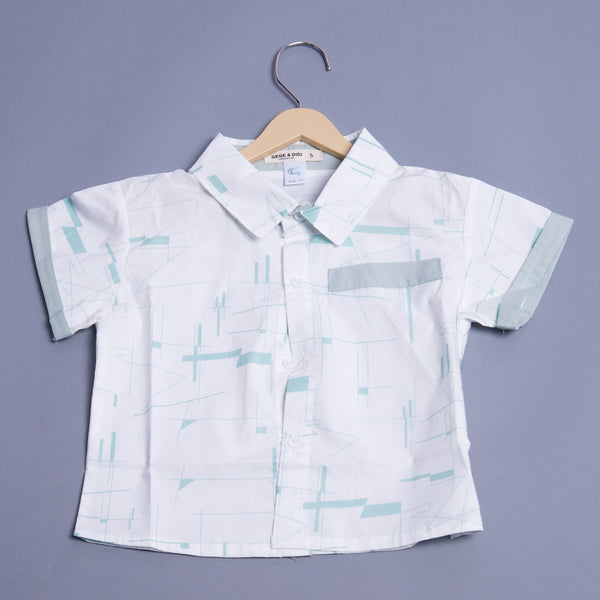 Boys Half Sleeves collar Shirt