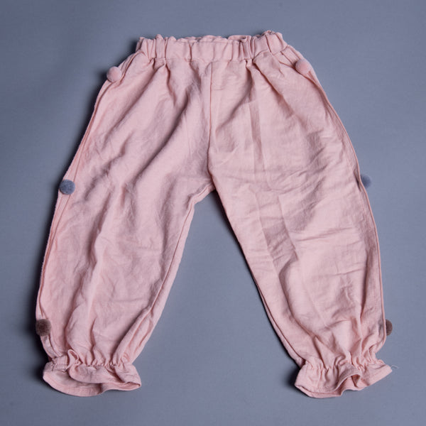 Girls Harem Pants With Slip On Closure