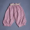 Girls Elasticated Hoseiry Harem Pants