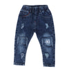 kids regular fit smart blue jeans