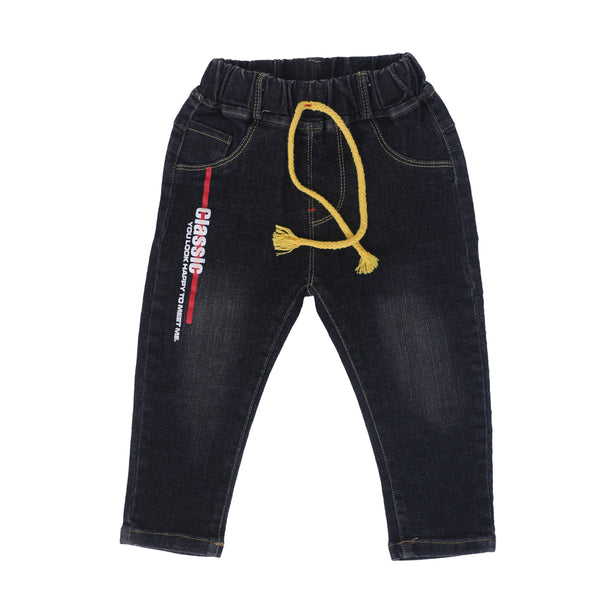 Kids regular fit Solid Jeans