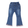 Girls flared stylish smart jeans