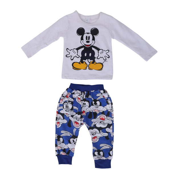 Kids Smart T-shirt with warm harem pants