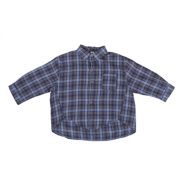 Boys Formal Check Shirt
