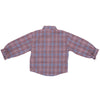 Girls Stylish Check Shirt With Knot Bow