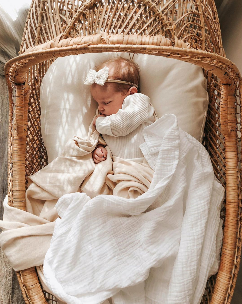 4-Pack Organic Swaddles Set (Save $25 USD)