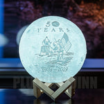 Limited Edition 50 Year Anniversary Moon Lamp - Zee's