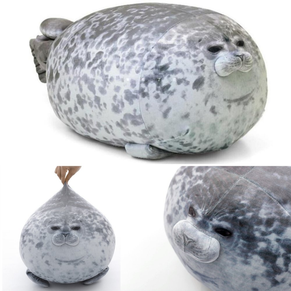 Stuffed Seal Pillow - Zee's