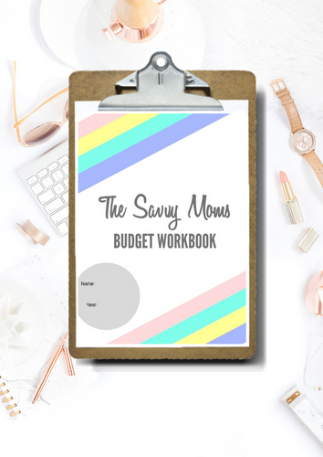 The Savvy Moms Budget Workbook