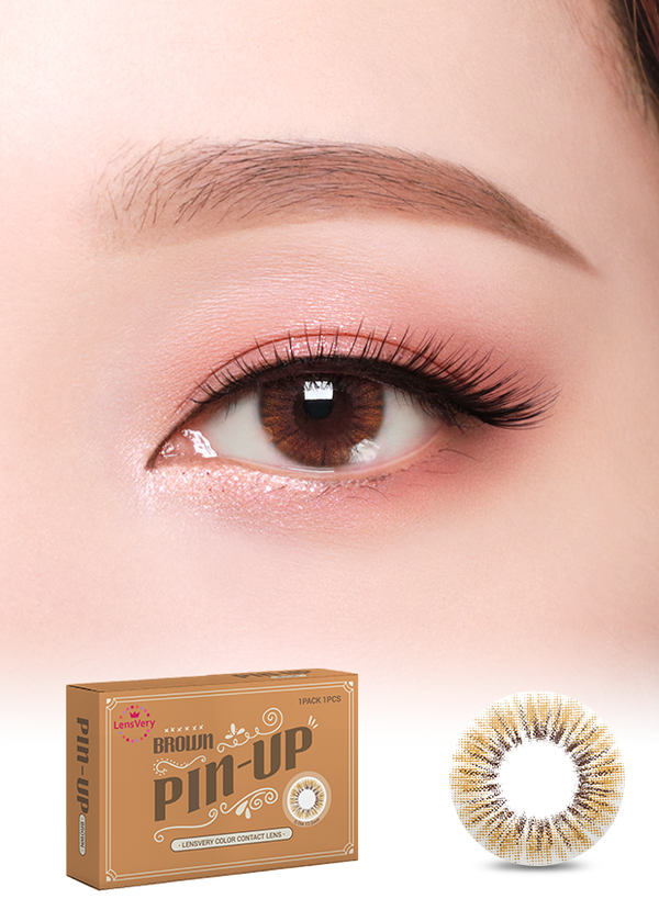 Pin-up Brown 耀眼啡