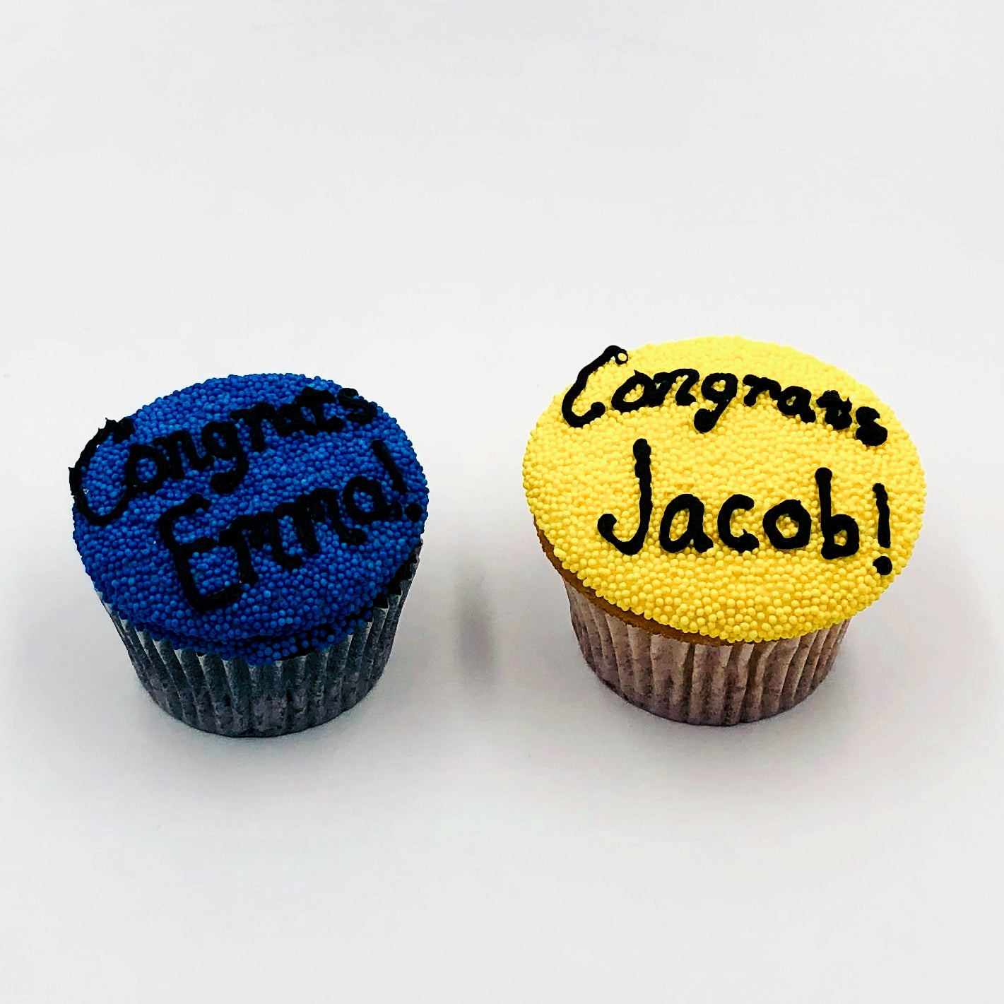 Personalized Graduation Cupcake